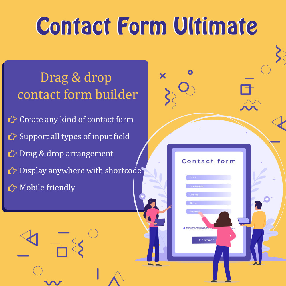 module - Contact Forms & Surveys - Contact Form Ultimate - 1