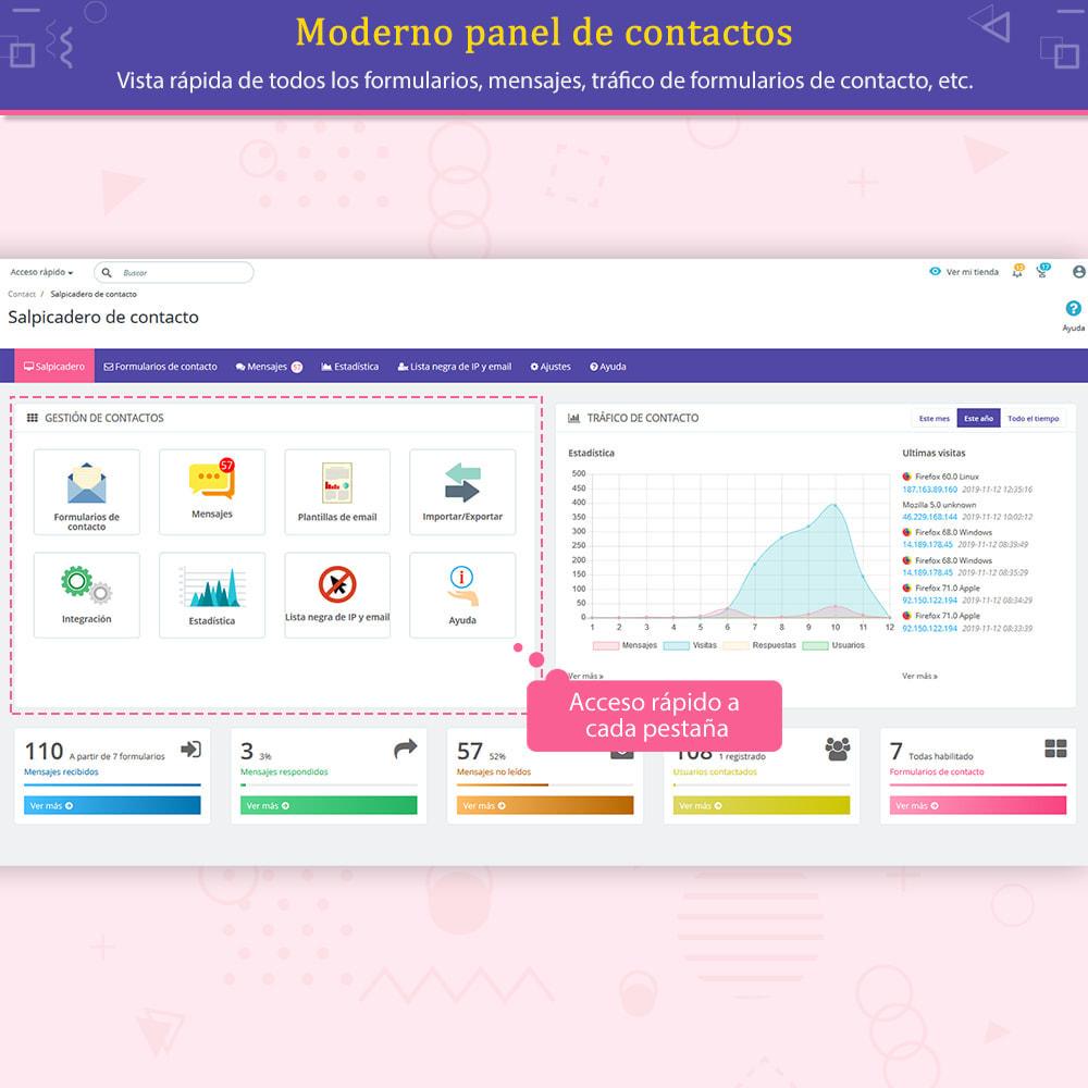 module - Formulario de contacto y Sondeos - Contact Form Ultimate: Arrastra y suelta formularios - 6