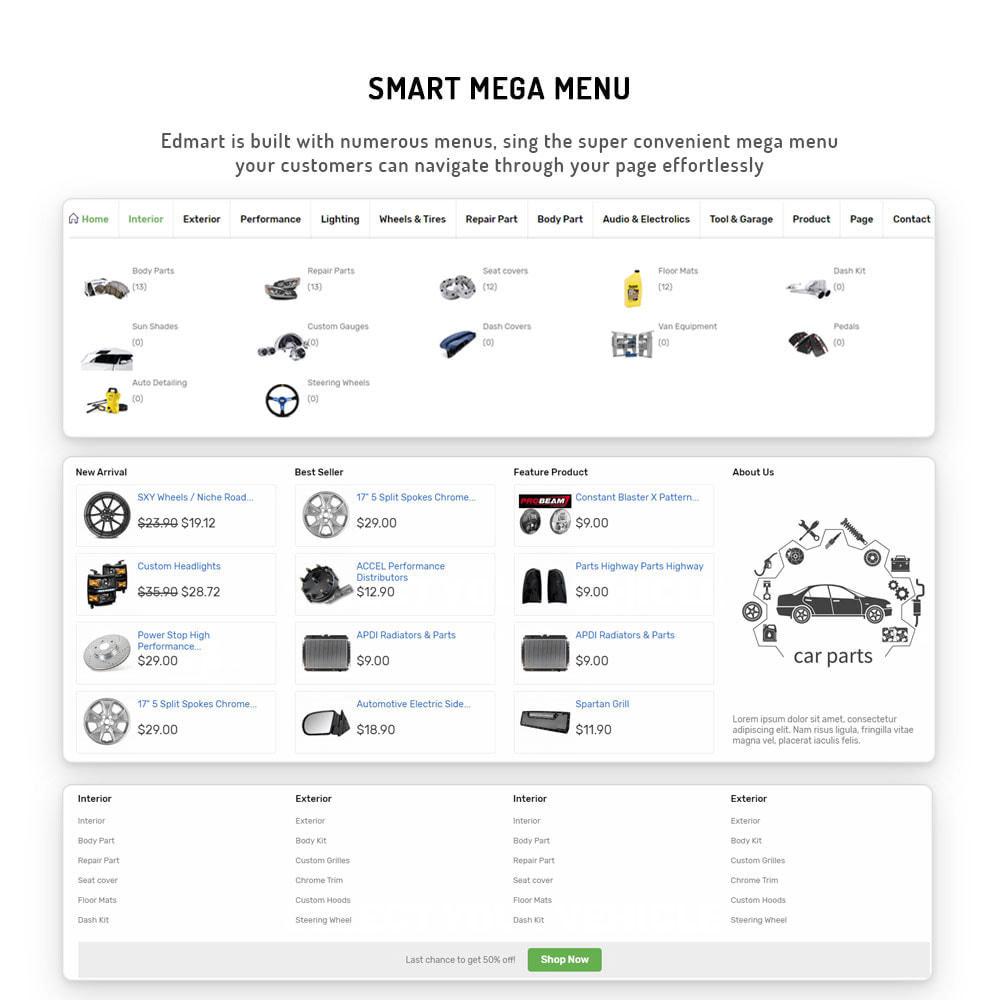 theme - Automotive & Cars - Edmart - Auto Parts &  Cars Store Template - 9