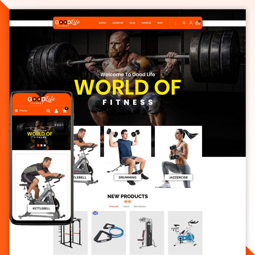 theme - Health & Beauty - Goodlife-Fitness Store - 1