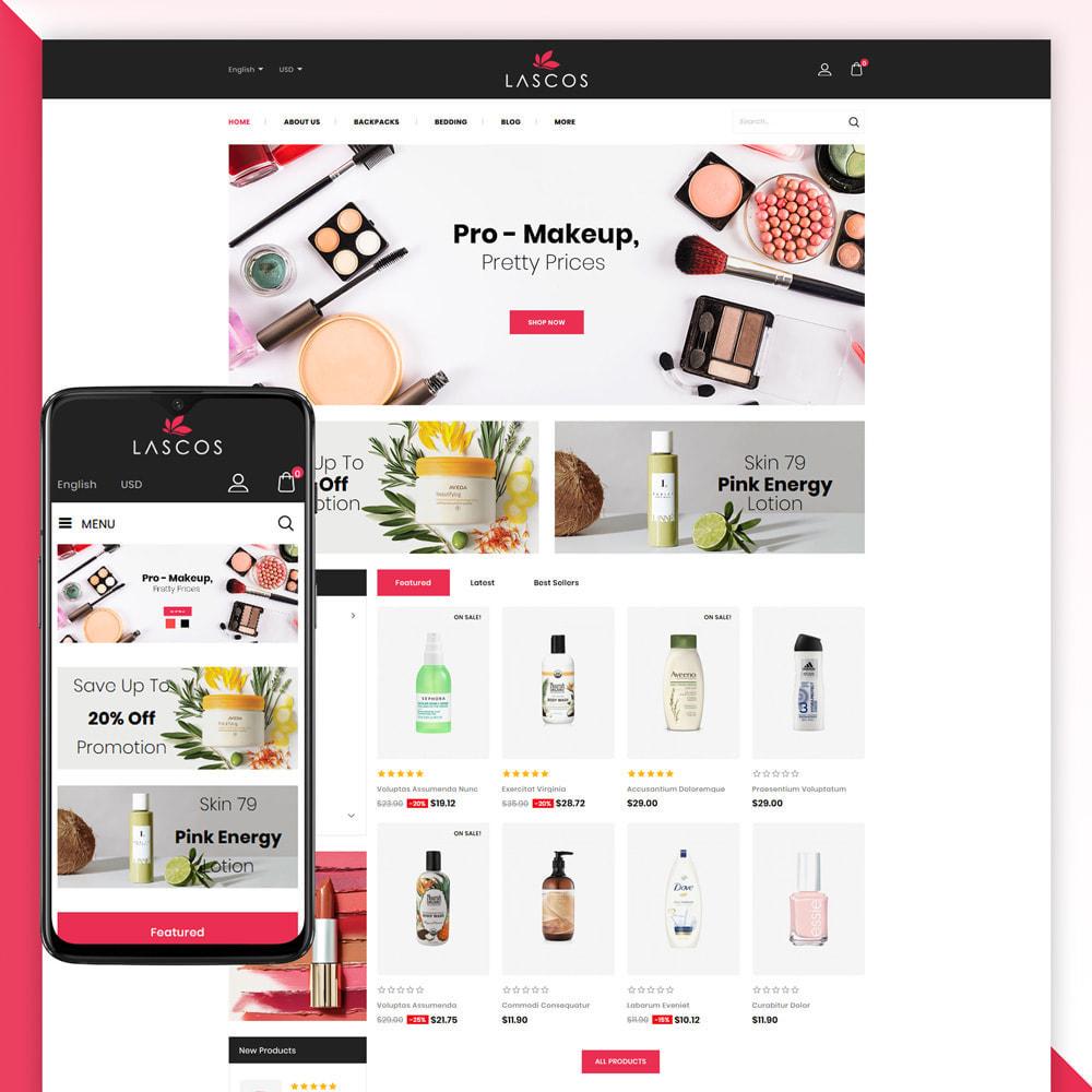 theme - Salute & Bellezza - Lascos -Beauty Store - 1