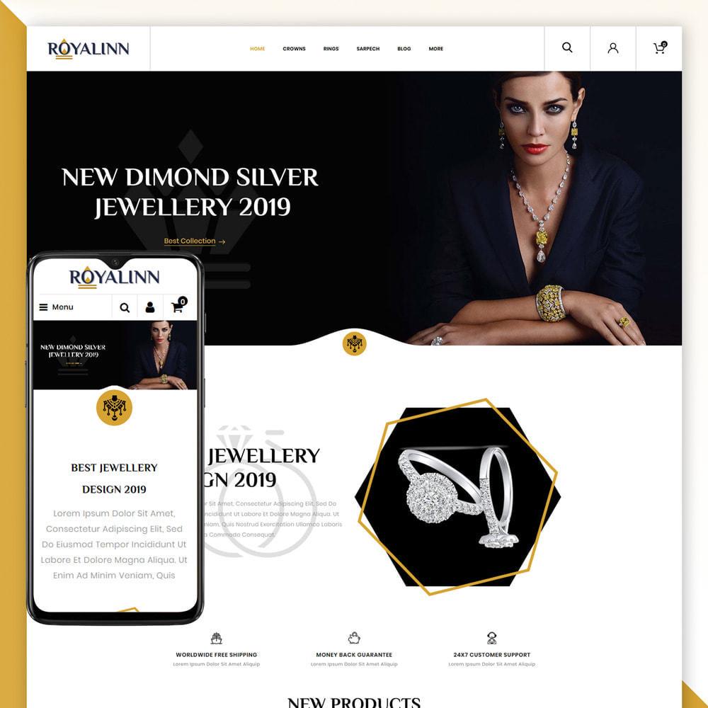 theme - Jewelry & Accessories - Royalinn - Jewellery Store - 1