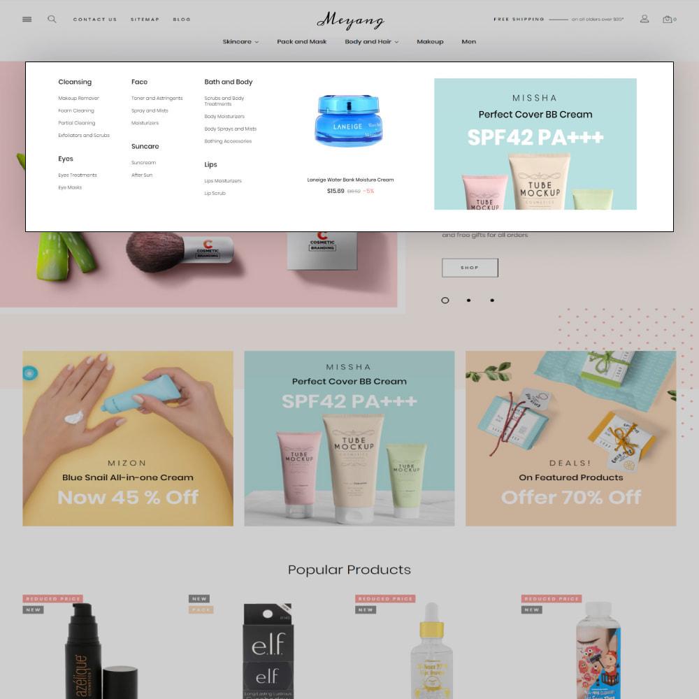 theme - Salute & Bellezza - Meyang - Korean Cosmetics Shop - 8