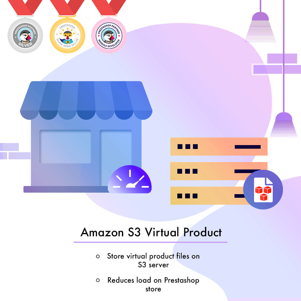 module - Digitale Produkt - Amazon S3 Virtual Product - 1
