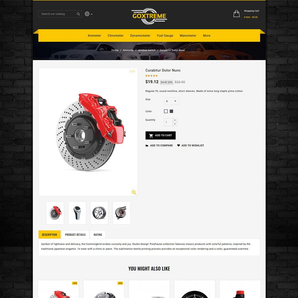 theme - Carros & Motos - Goxtreme - Spare Parts Store - 4