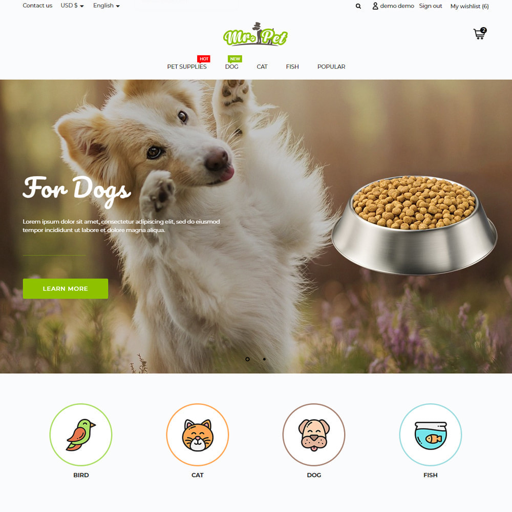 theme - Animaux - Mr. Pet - 13