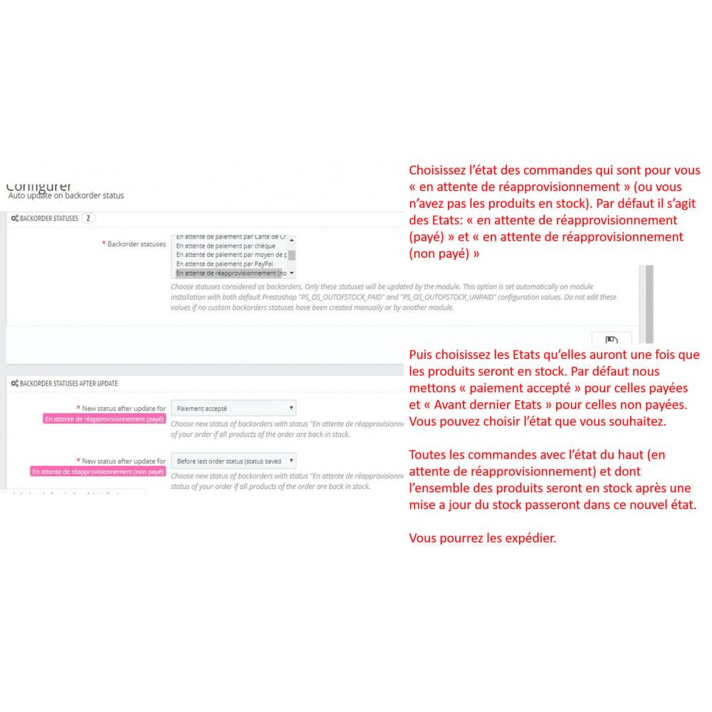 module - Gestion des Commandes - En attente de réapprovisionnement: mise à jour auto - 1