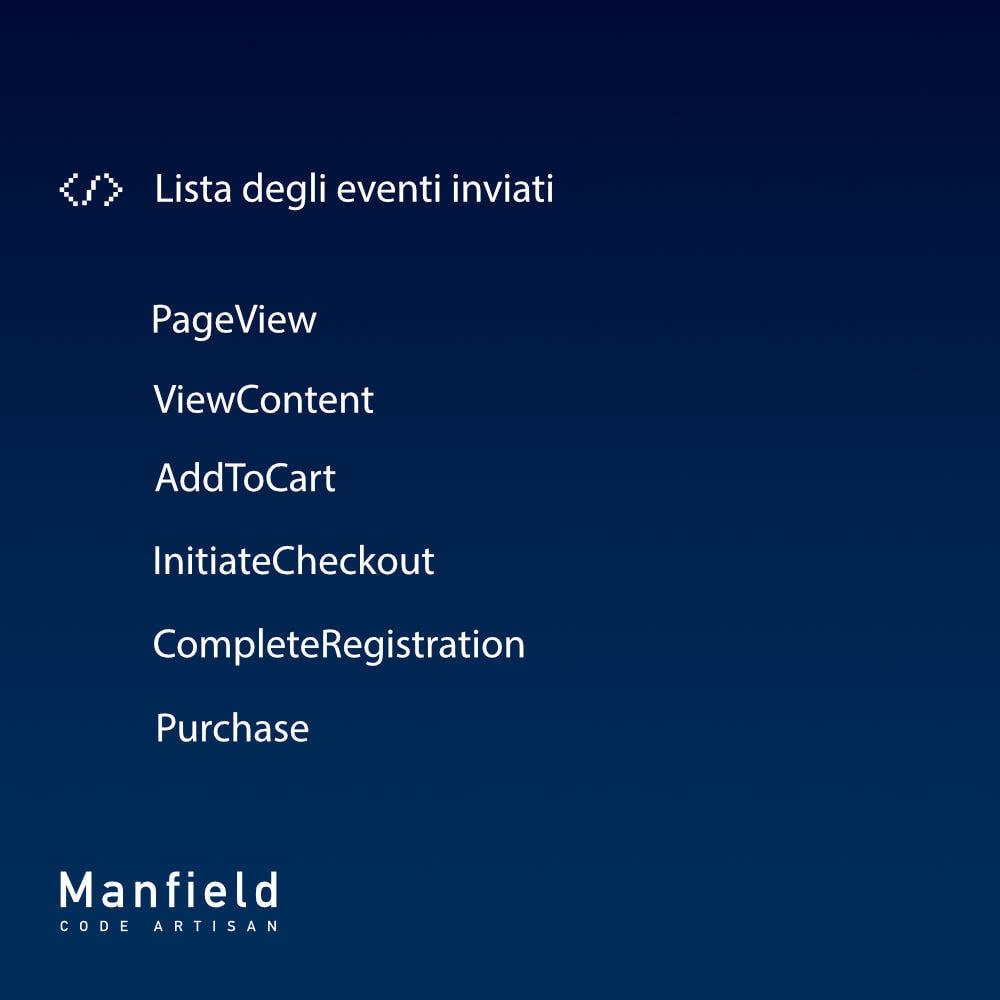 module - Prodotti sui Facebook & Social Network - Facebook Pixel + Track E-commerce + Catalogo e Cron - 8