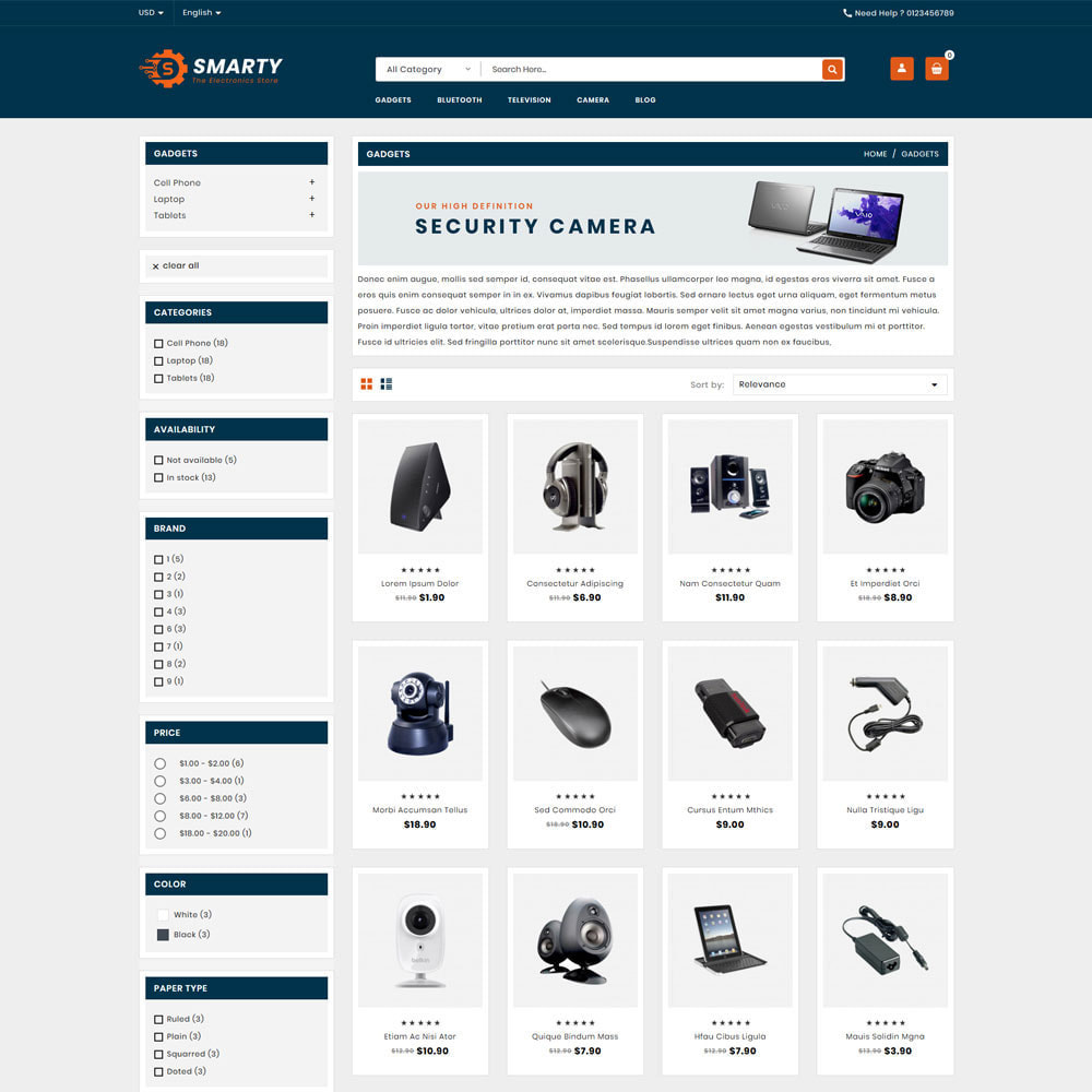 theme - Electronics & Computers - Smarty Electronics & Computer Shop - 3