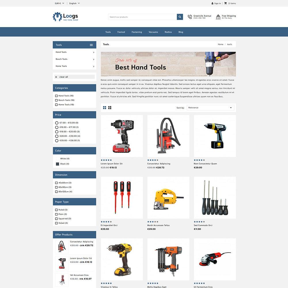 theme - Auto & Moto - Loogs Tools - 3