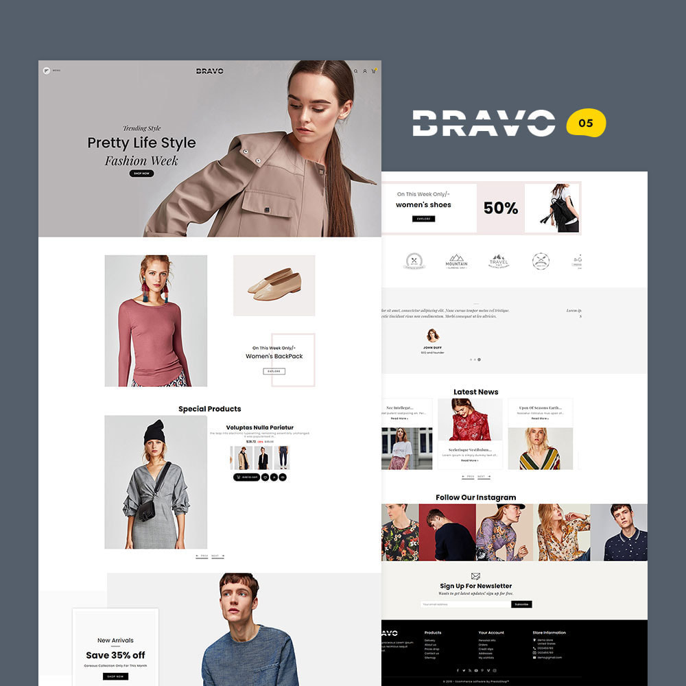 theme - Fashion & Shoes - BRAVO - Multi Purpose Boutique Shop - 6