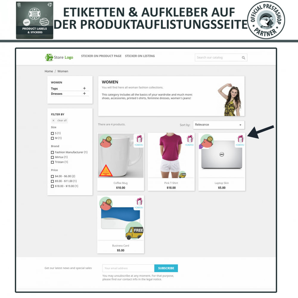 module - Badges & Logos - Produktaufkleber und Aufkleber - 2