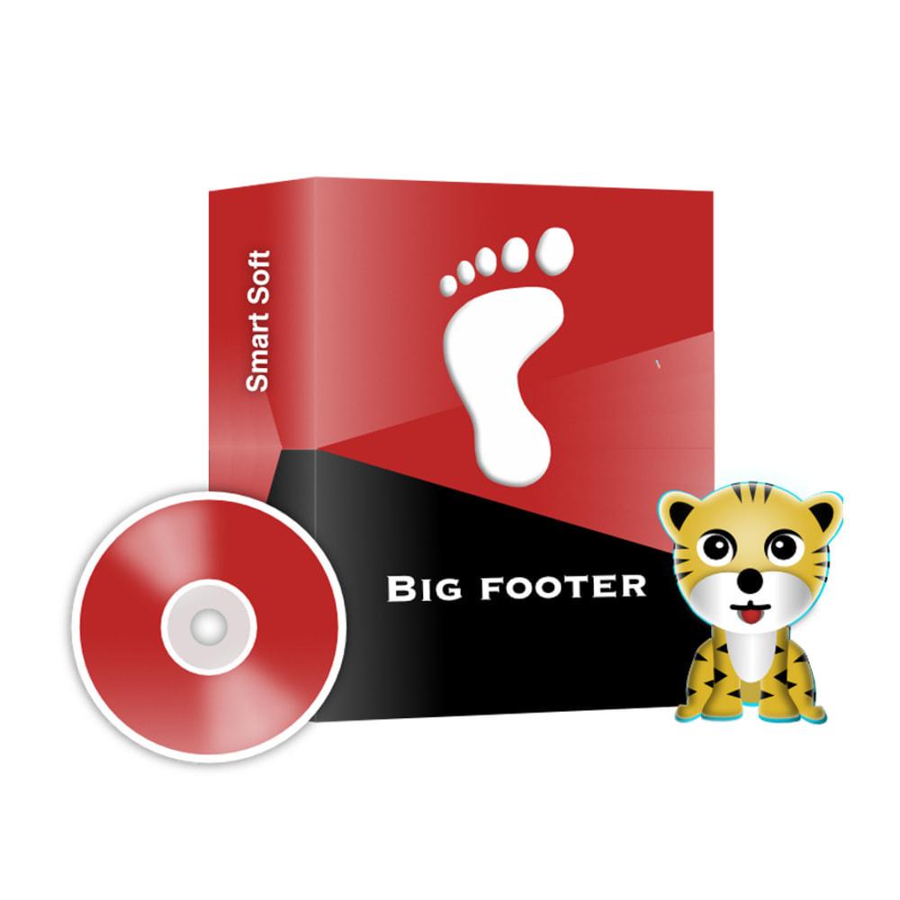 module - Personalização de página - Big Footer - 1