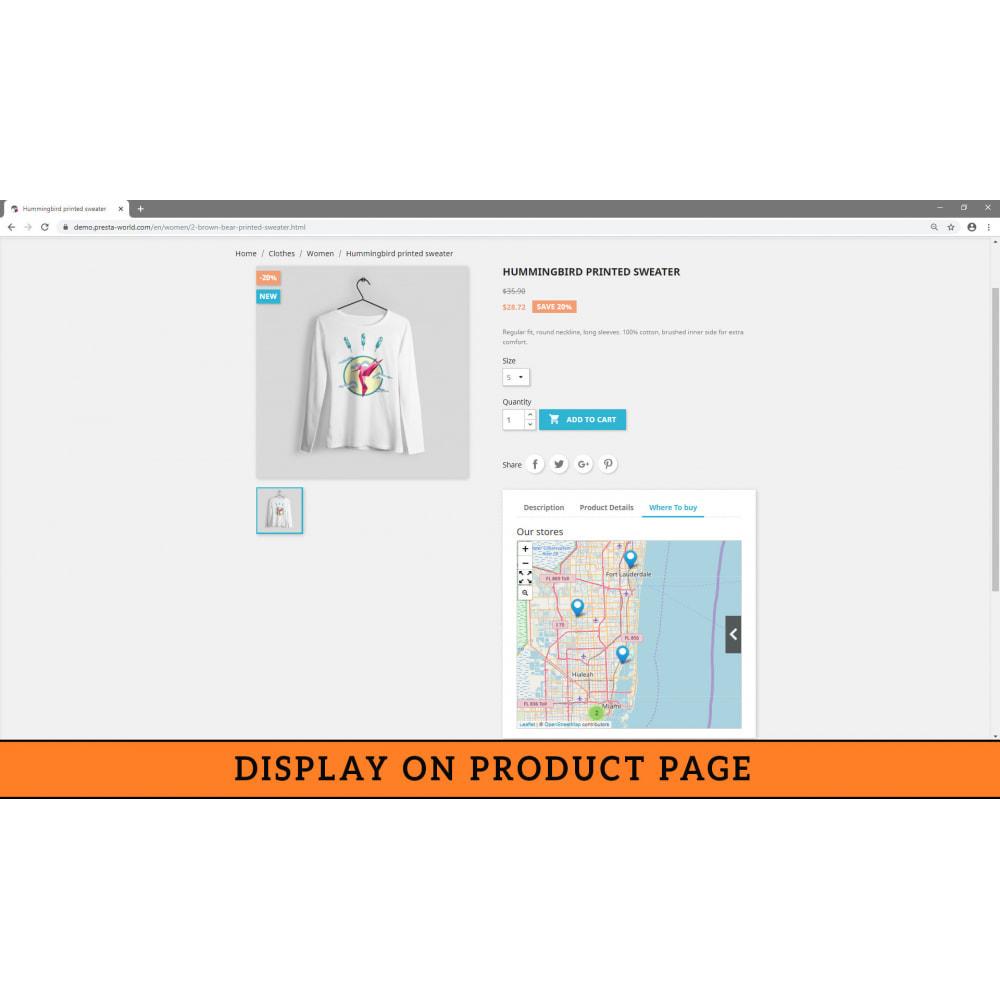 module - International & Localisation - Store Locator (FREE - No Google Maps) - 7