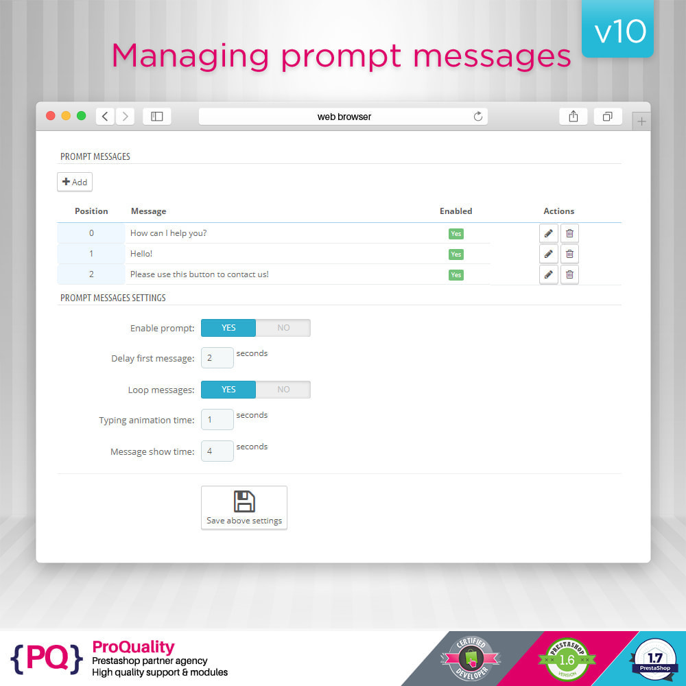 module - Support & Online-Chat - Live Chat Pro (All in One) - 6