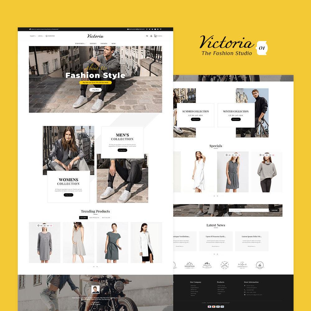 theme - Fashion & Shoes - Victoria Fashion Apparels - 2