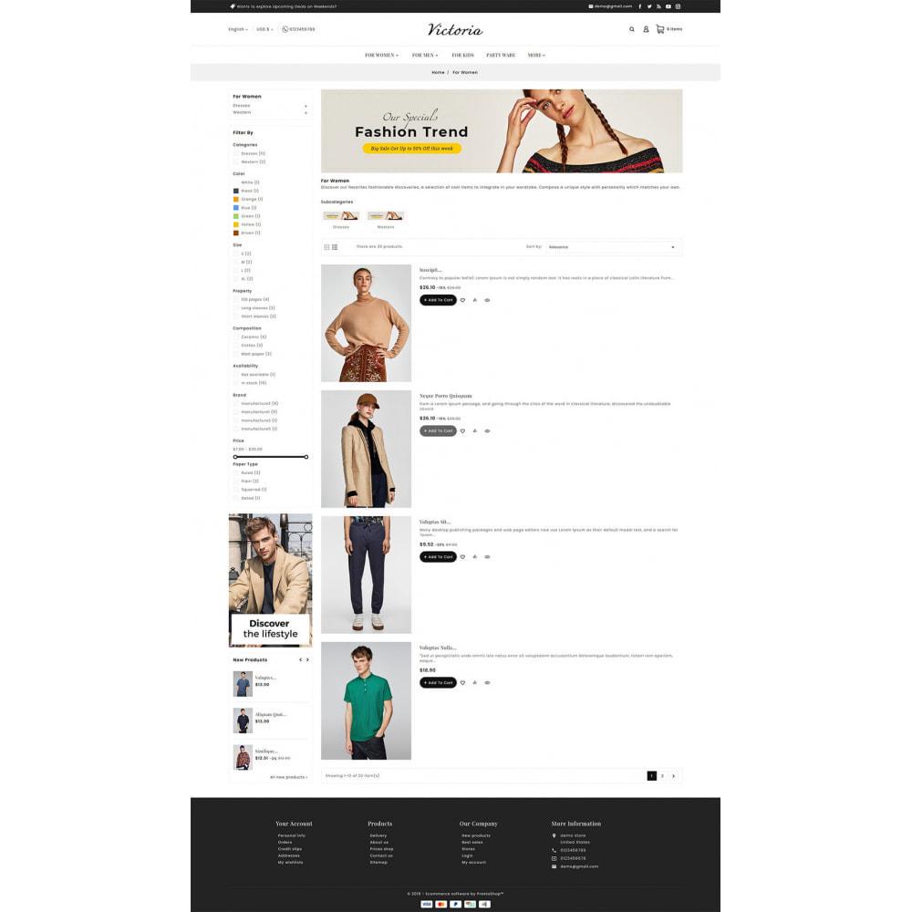 theme - Moda y Calzado - Victoria Fashion Apparels - 6