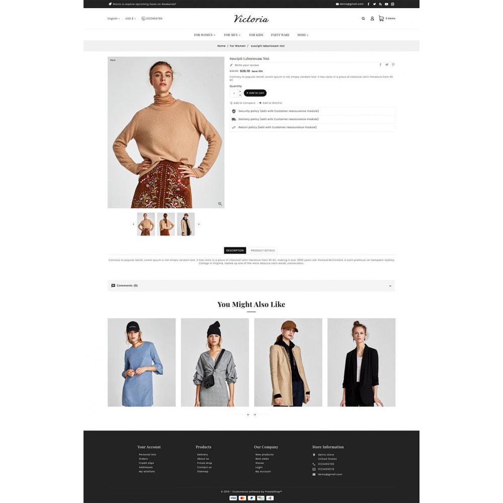 theme - Moda y Calzado - Victoria Fashion Apparels - 7