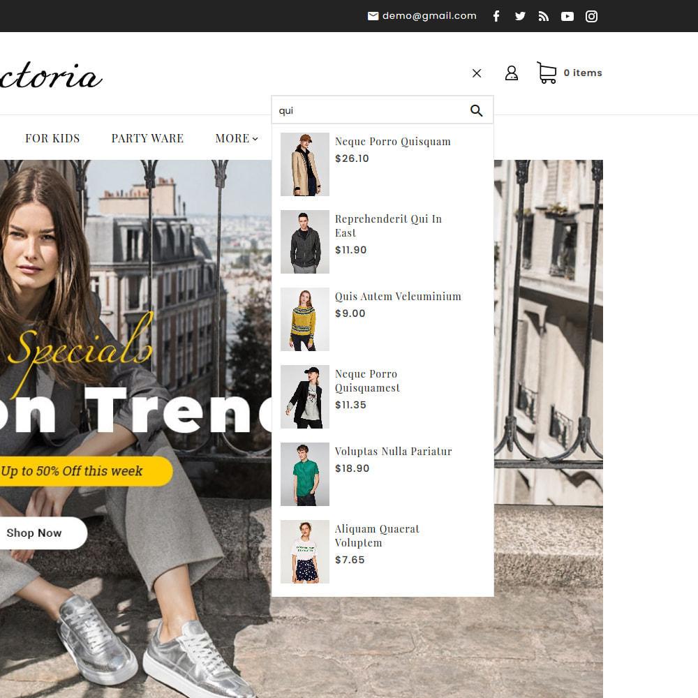 theme - Moda y Calzado - Victoria Fashion Apparels - 12