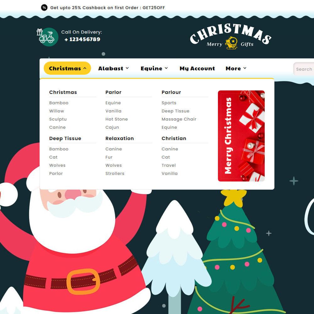 theme - Presentes, Flores & Comemorações - Merry Christmas & Gifts - 9