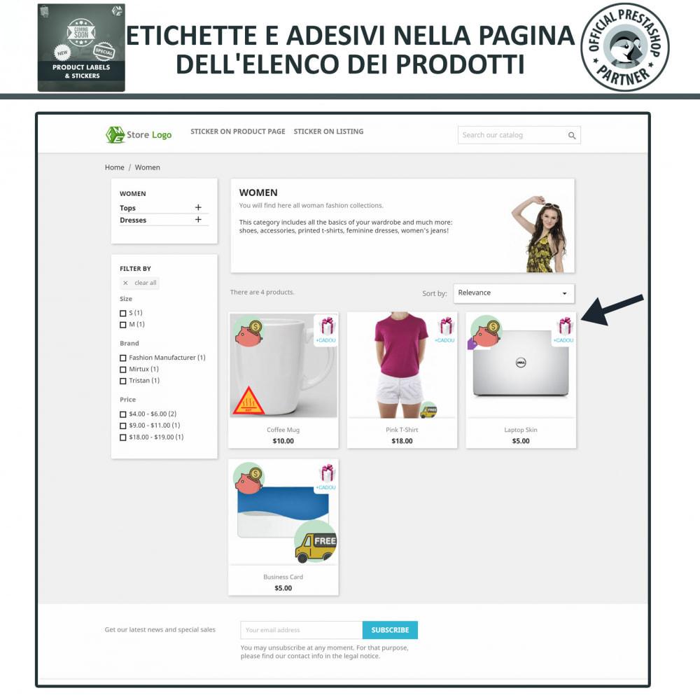 module - Badge & Loghi - Etichette e Adesivi per Prodotti - 2