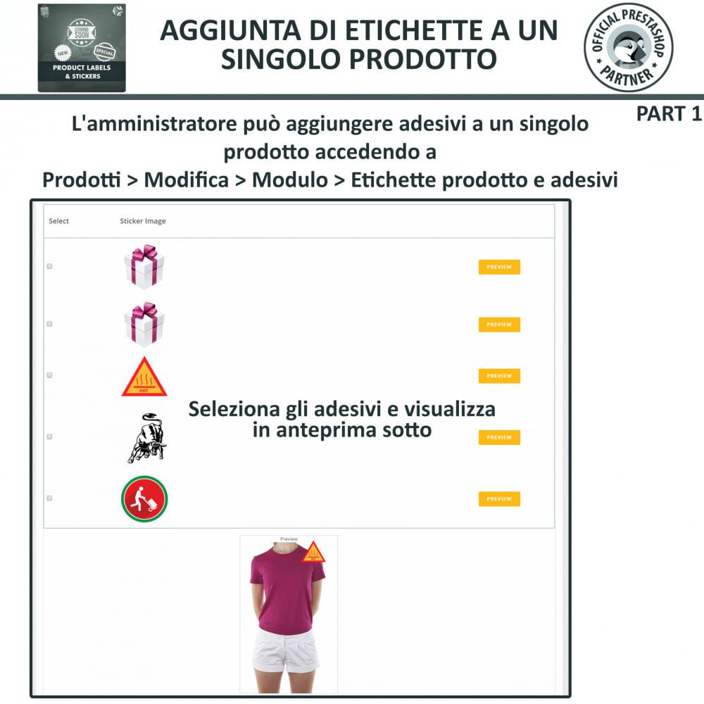 module - Badge & Loghi - Etichette e Adesivi per Prodotti - 17