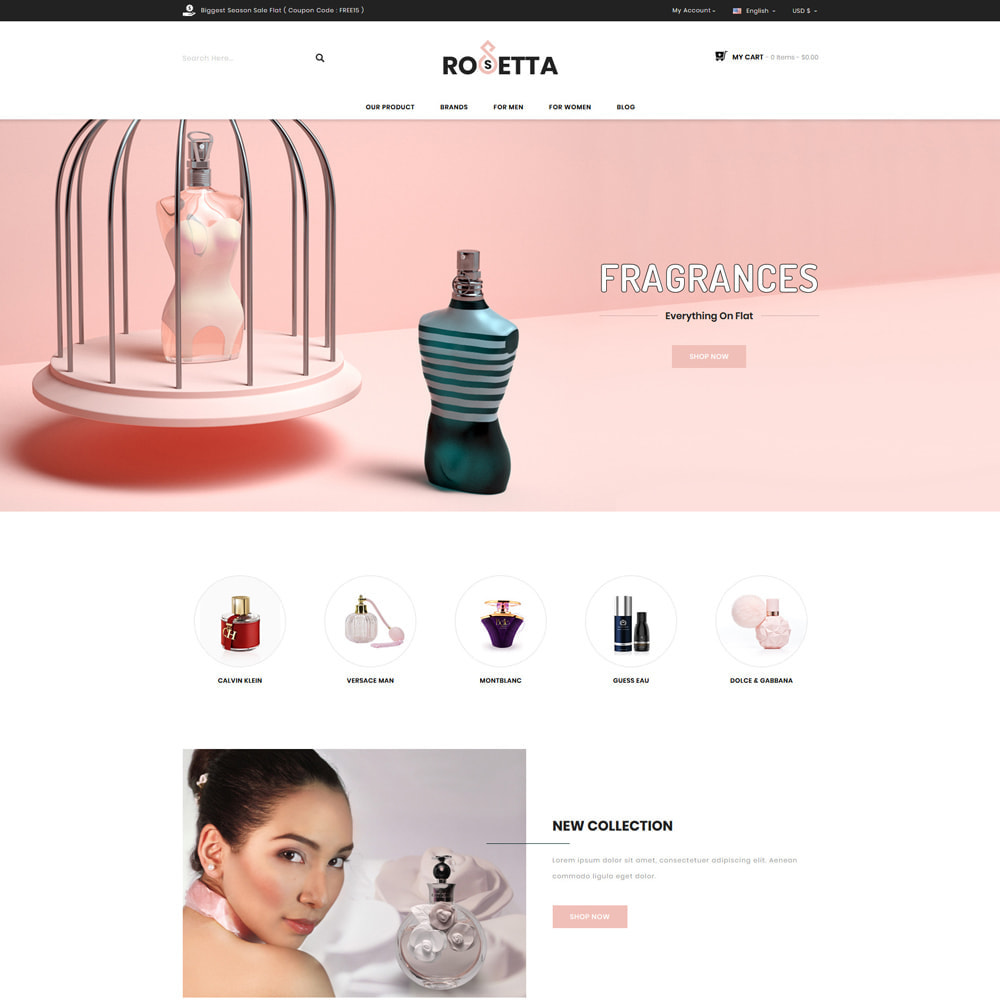 theme - Gifts, Flowers & Celebrations - Rosetta - Perfume Store - 2
