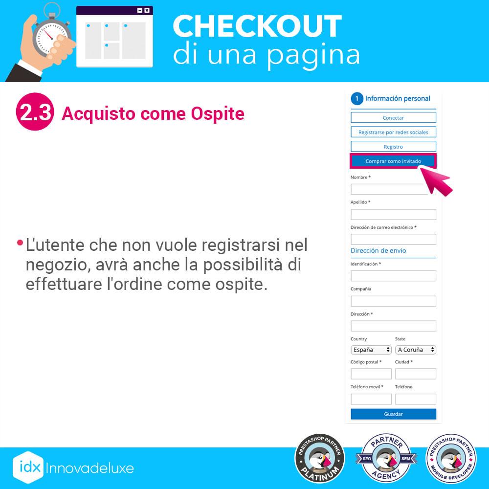module - Express Checkout - Checkout in una pagina - Processo di acquisto veloce - 6