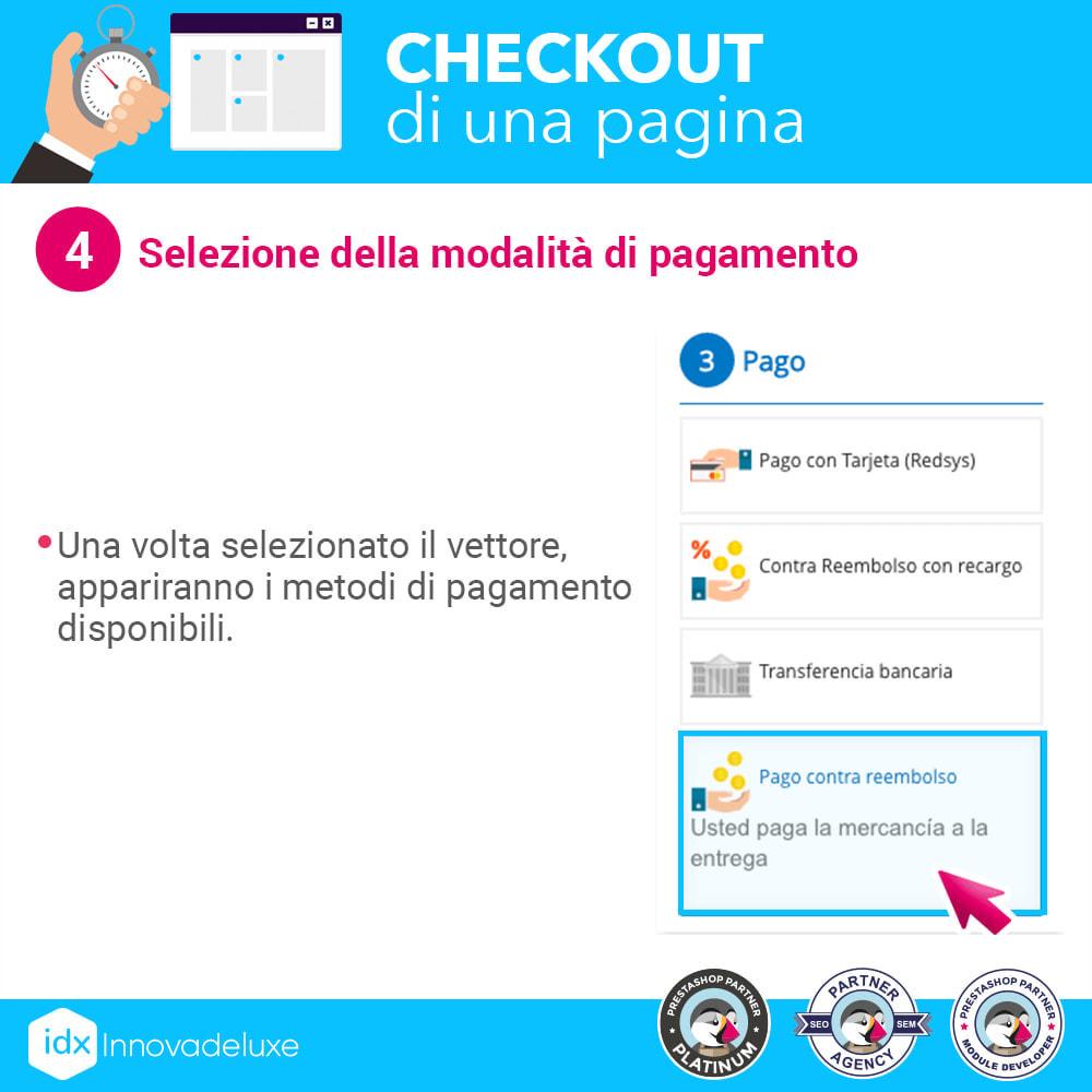module - Express Checkout - Checkout in una pagina - Processo di acquisto veloce - 10