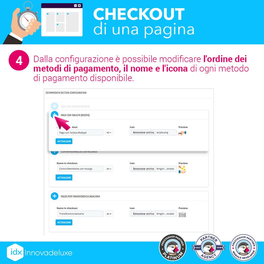 module - Express Checkout - Checkout in una pagina - Processo di acquisto veloce - 11