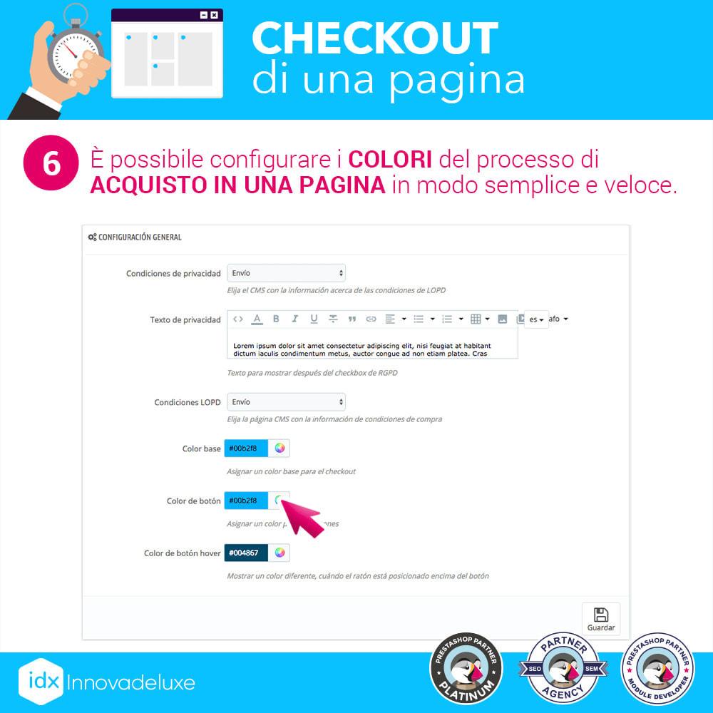 module - Express Checkout - Checkout in una pagina - Processo di acquisto veloce - 13