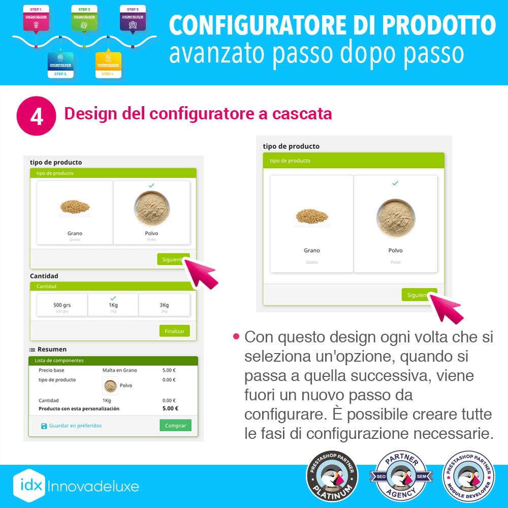 module - Combinazioni & Personalizzazione Prodotti - Configuratore di prodotto avanzato passo dopo passo - 5