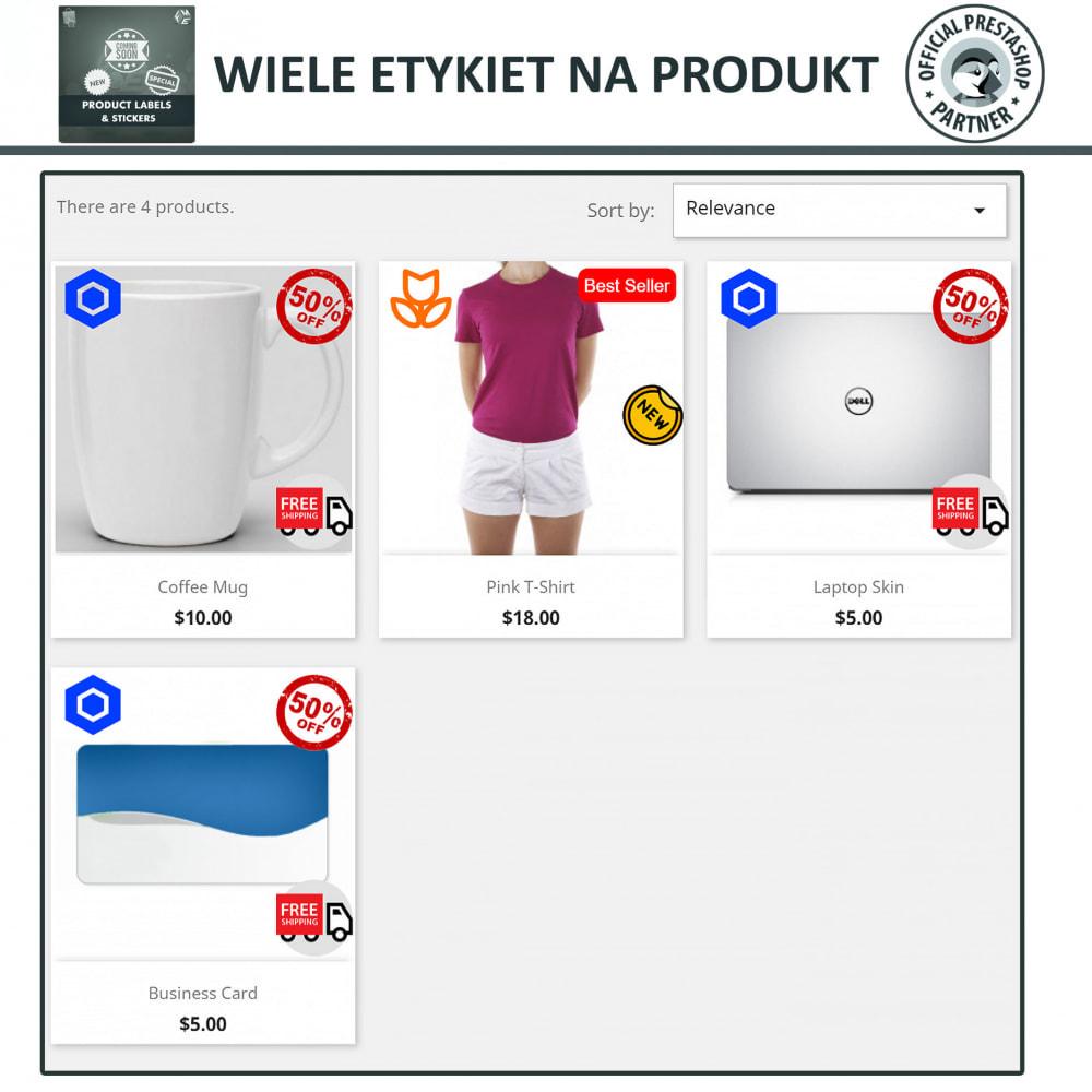 module - Odznaki & Logo - Etykiety i Naklejki na Produkty - 3