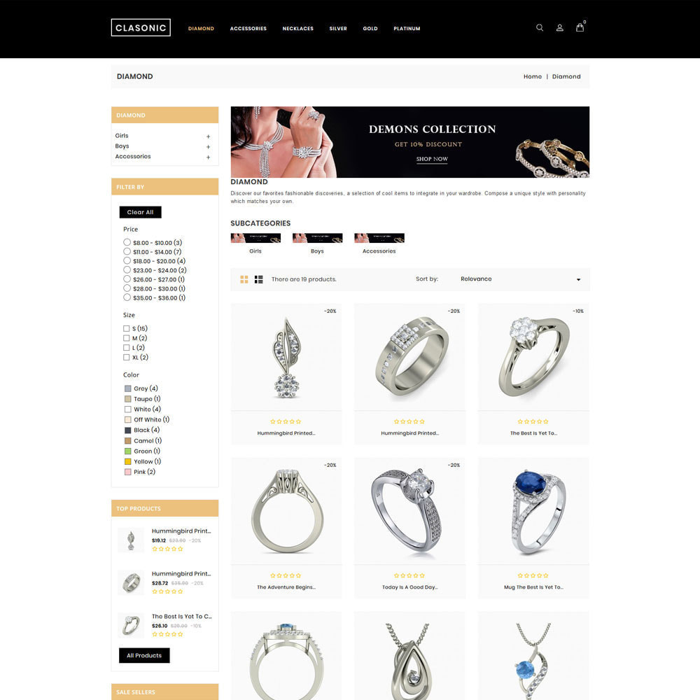 theme - Jewelry & Accessories - Classoni Store - 4