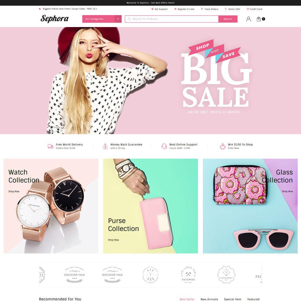 theme - Mode & Schuhe - Sephora Multi Store - 3