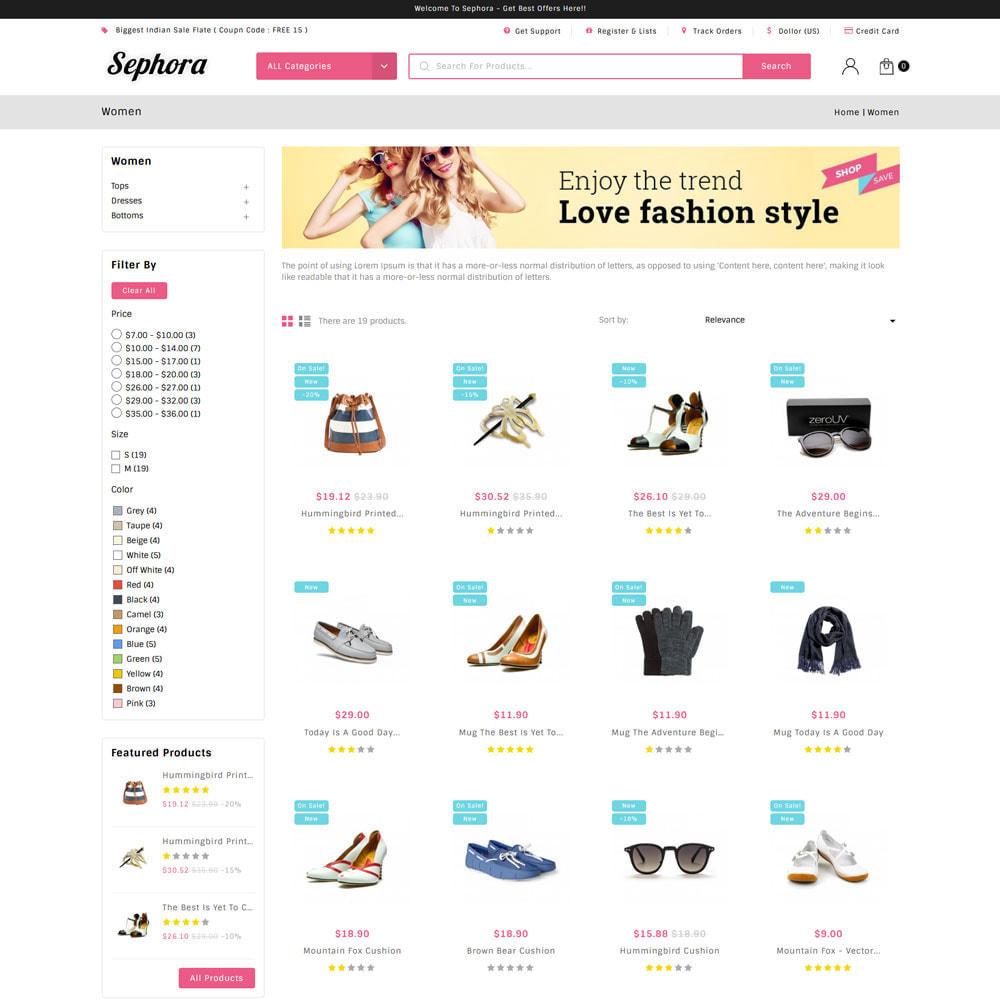 theme - Mode & Schuhe - Sephora Multi Store - 4