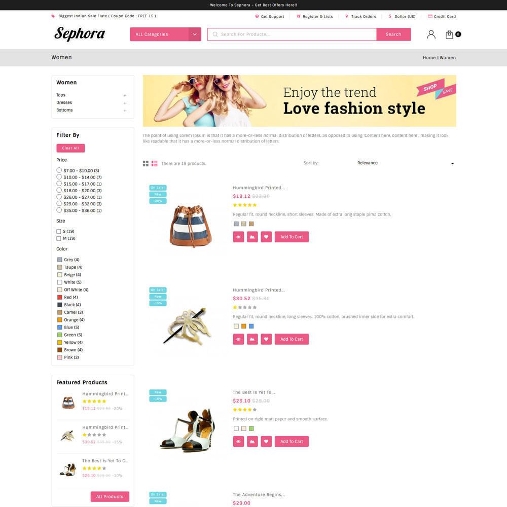 theme - Mode & Schuhe - Sephora Multi Store - 5
