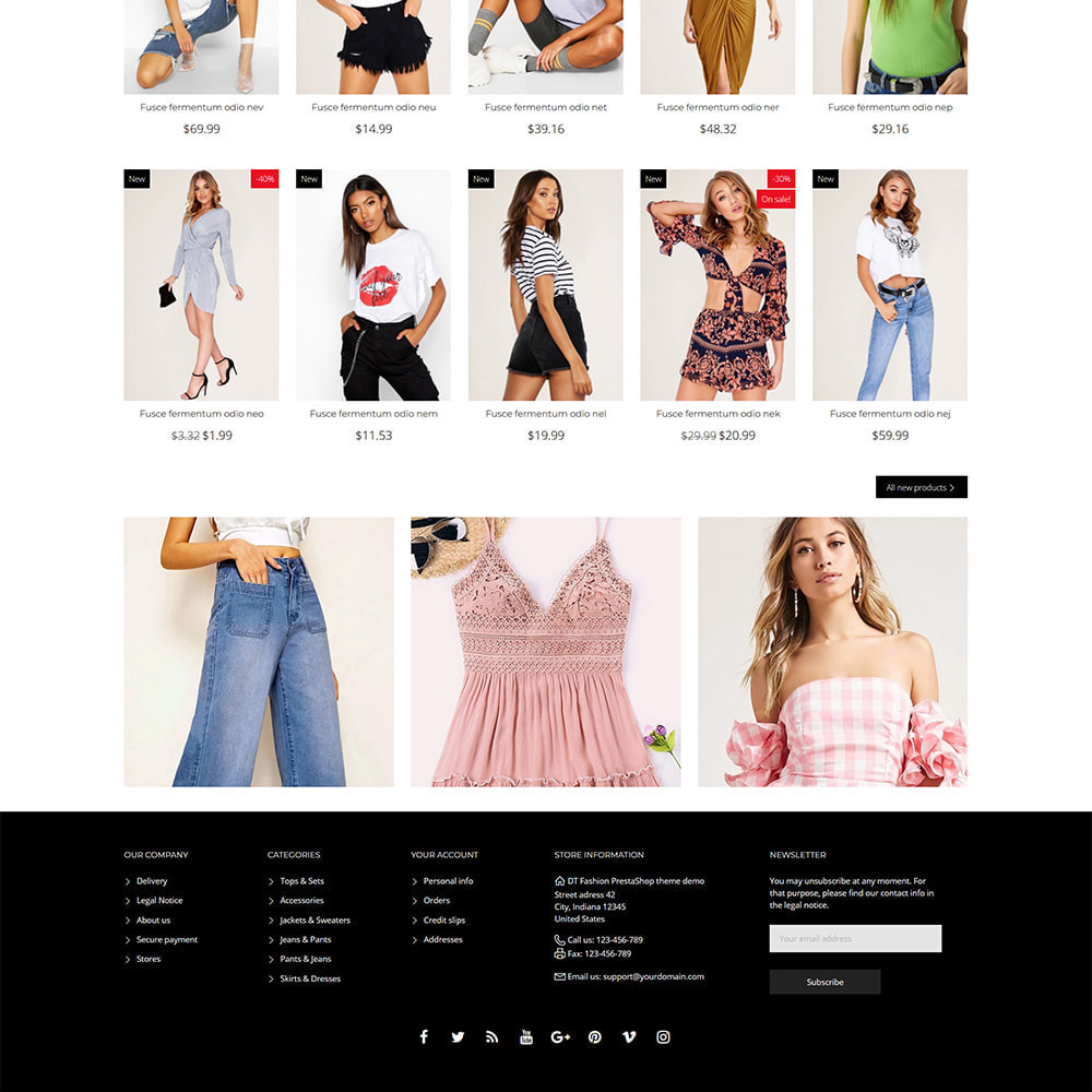 theme - Mode & Chaussures - DT Fashion clothes - 5