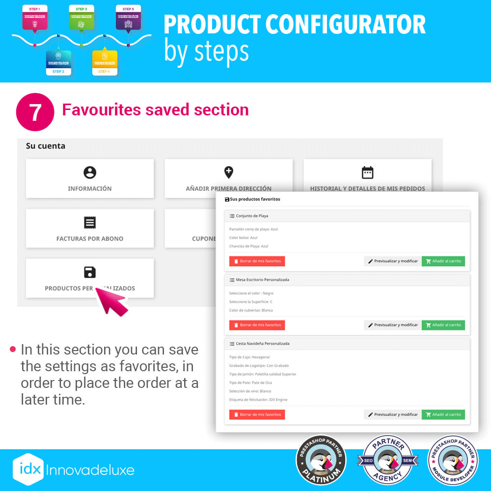 module - Combinations & Product Customization - Advanced product configurator by steps - 8