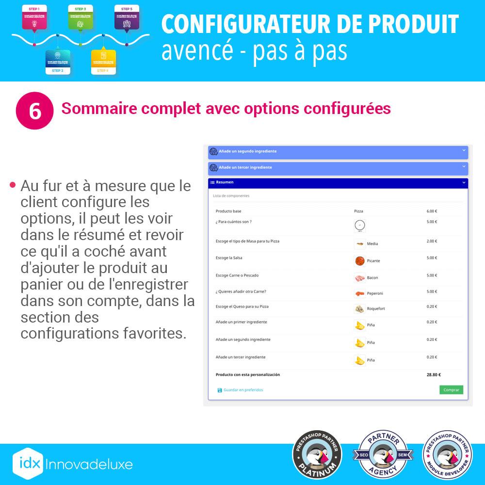 module - Déclinaisons & Personnalisation de produits - Configurateur de produit avancé - pas à pas - 7