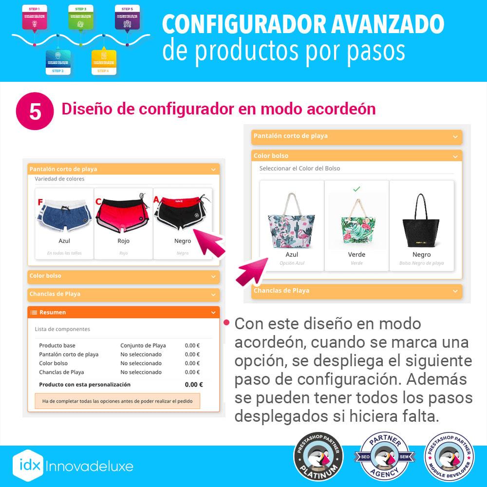 module - Combinaciones y Personalización de productos - Configurador avanzado de productos por pasos - 6
