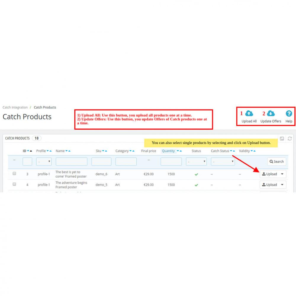 module - Revenda (marketplace) - Catch Integration - 11