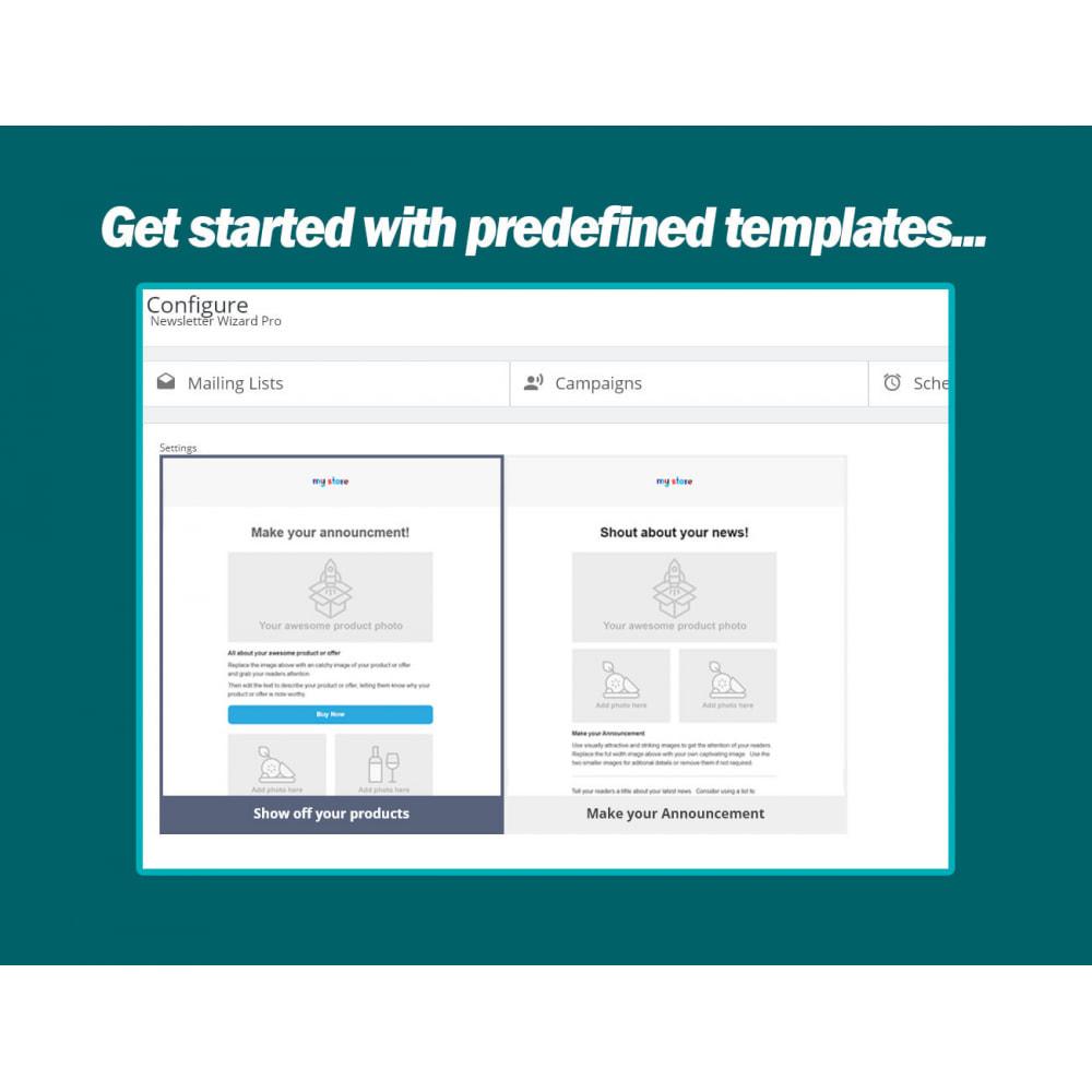 module - Newsletter & SMS - Newsletter Wizard Pro - 2