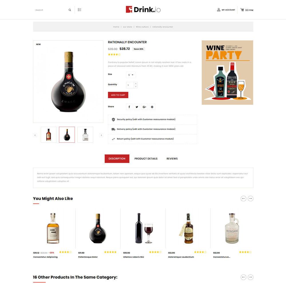 theme - Drink & Wine - Drinkio - The Wine Store - 6