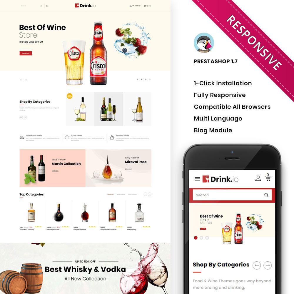 theme - Bebidas y Tabaco - Drinkio - La tienda de vinos - 2