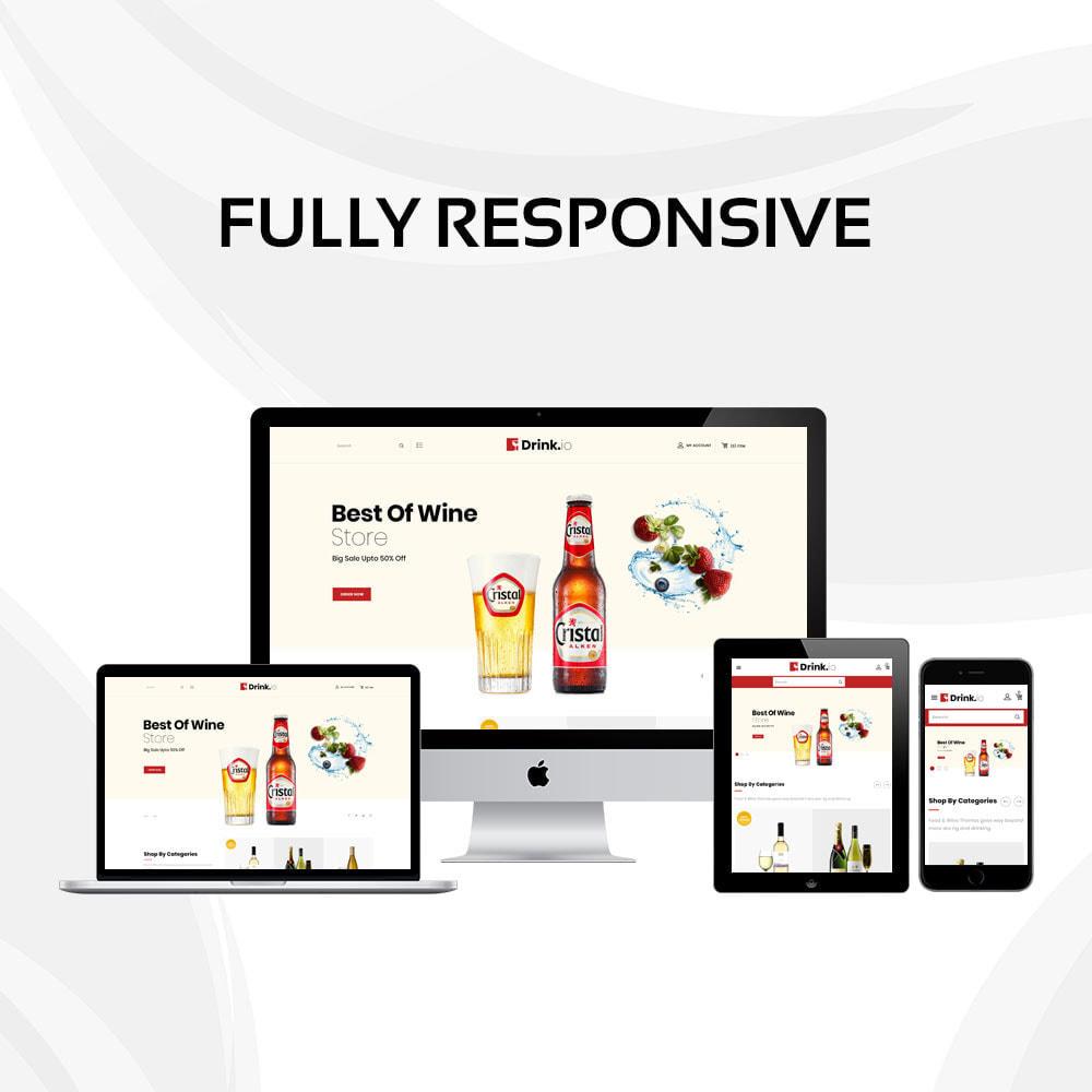 theme - Bebidas y Tabaco - Drinkio - La tienda de vinos - 3