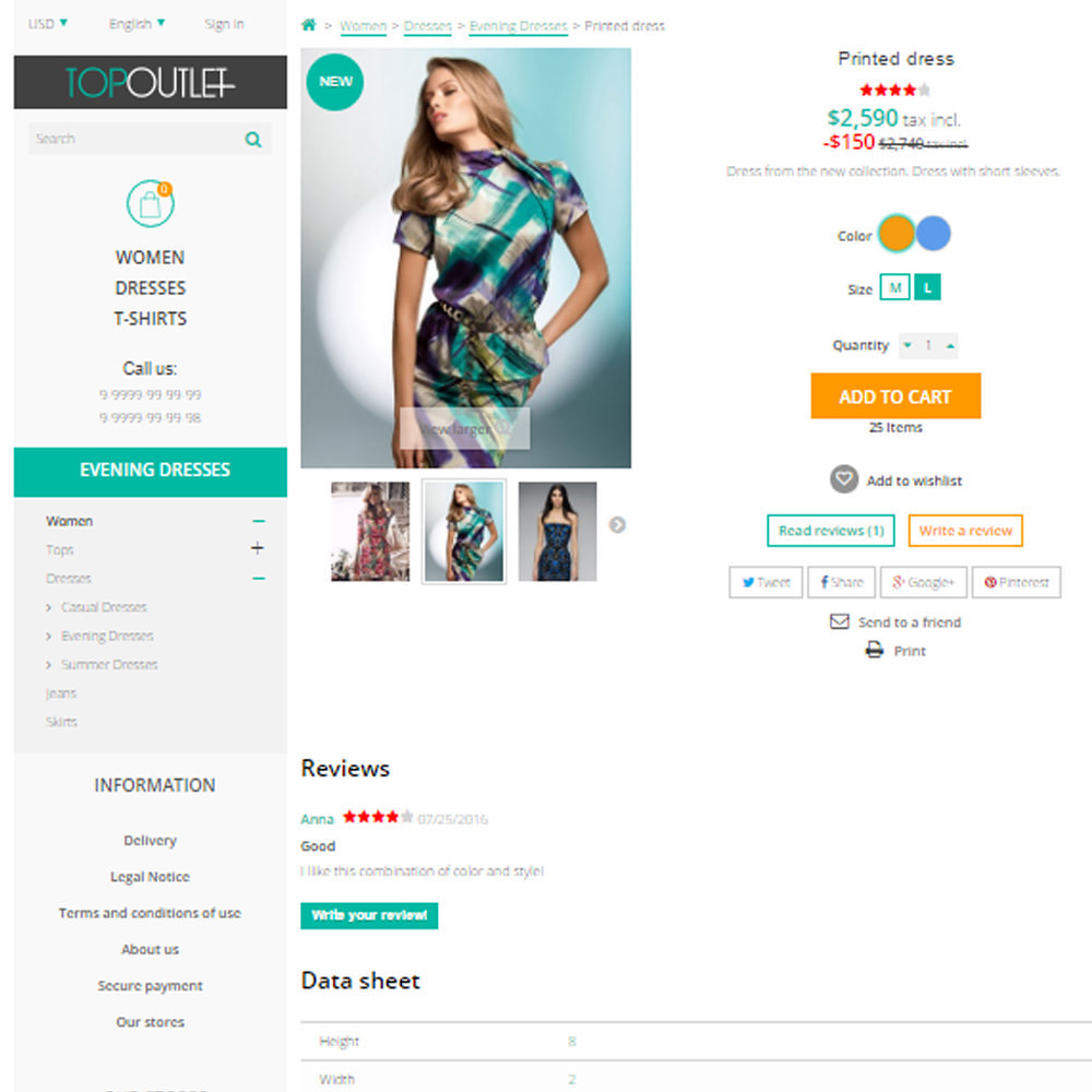 theme - Moda & Obuwie - Sklep mody Membrana - 7