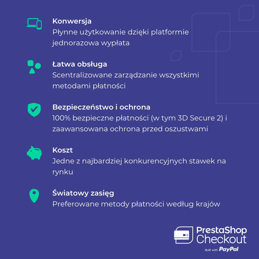 module - Płatność kartą lub Płatność Wallet - PrestaShop Checkout built with PayPal - 8