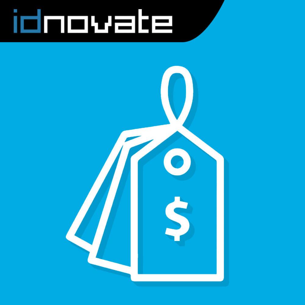 module - Gestión de Precios - Muestra varios precios en la página de producto - 1
