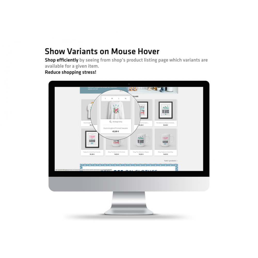 module - Combinations & Product Customization - Show Variants on Mouse Hover - 2